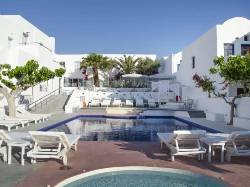 Holidays at RK Beach Hotel in Kamari, Santorini