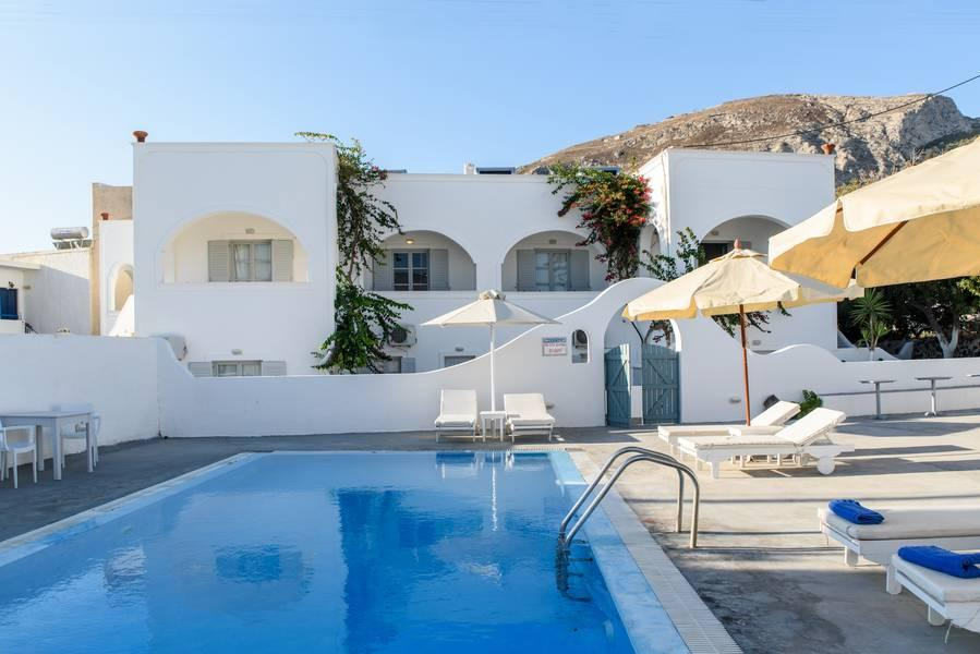 Holidays at Atlas Boutique Hotel in Kamari, Santorini