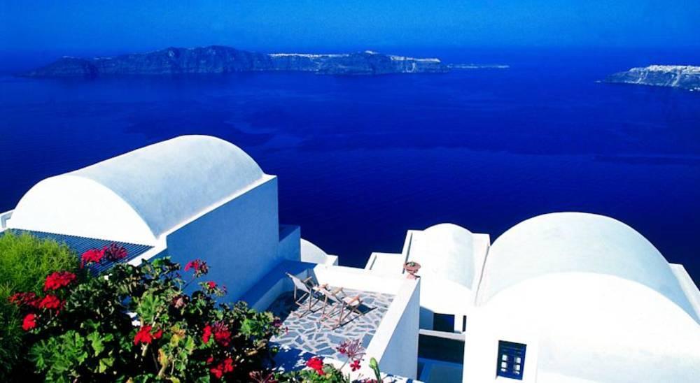 Holidays at Heliotopos Hotel in Imerovigli, Santorini