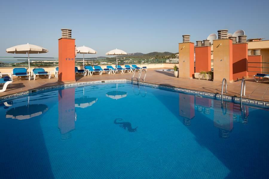 Holidays at H Top Royal Sun Suites in Santa Susanna, Costa Brava