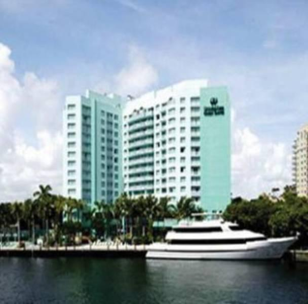 Holidays at Gallery One - A Doubletree Guest Suites Hotel in Fort Lauderdale, Florida