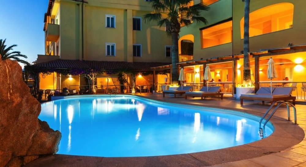 Holidays at Villa Margherita Hotel in Baia Sardinia, Sardinia