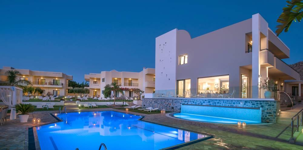 Holidays at Kristalli Apartments in Malia, Crete