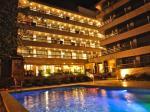 Night View of Swimming Pool at Ipanema Beach Hotel