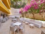 Outdoor Dining Terrace at Flor Los Almendros Hotel