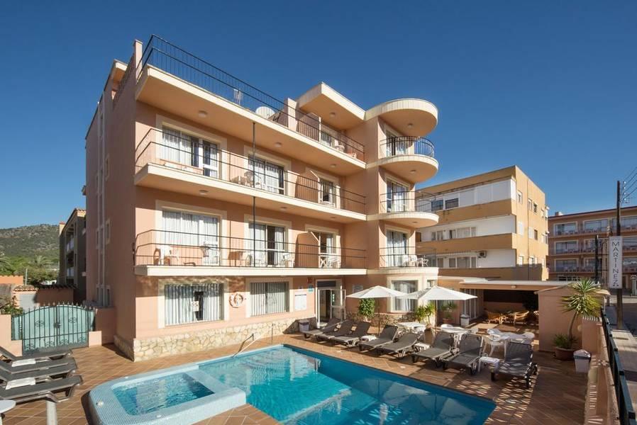 Holidays at Martinez Aparthotel in Palma Nova, Majorca