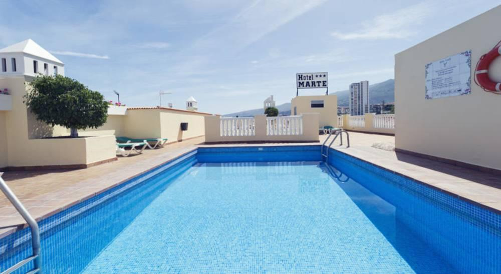 Holidays at Marte Hotel in Puerto de la Cruz, Tenerife