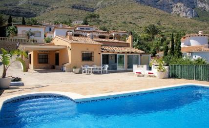 Holidays at Villa Forment in Denia, Costa Blanca