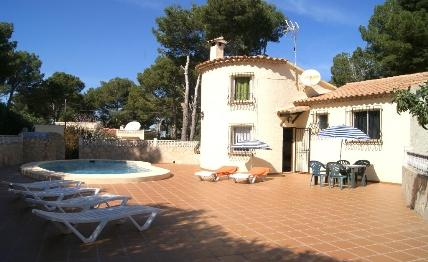 Holidays at Villa Marquesa in Denia, Costa Blanca