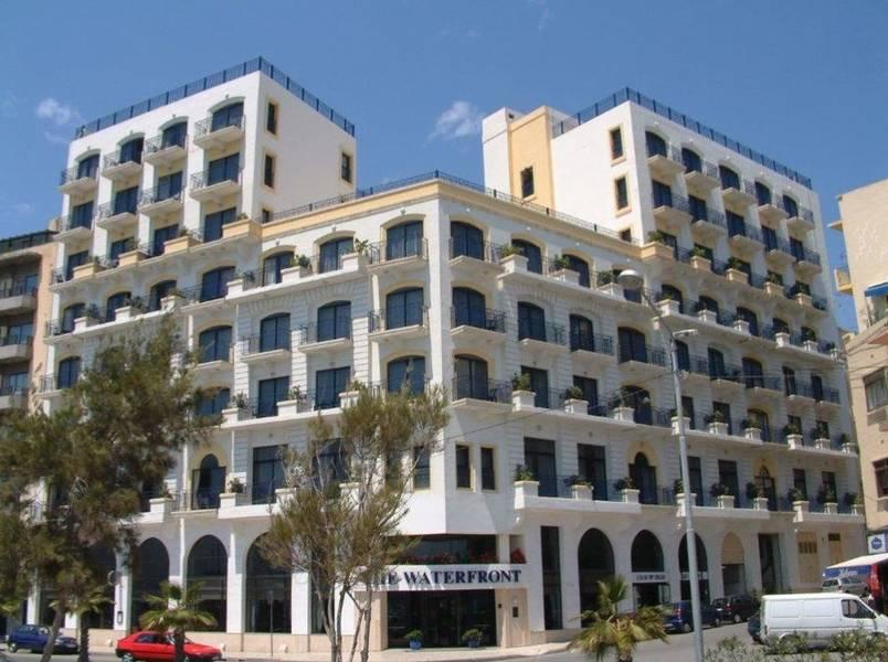Holidays at Waterfront Hotel in Sliema, Malta