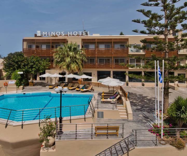 Holidays at Minos Hotel in Rethymnon, Crete