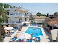 Holidays at Kaparis Beach Complex in Kavos, Corfu