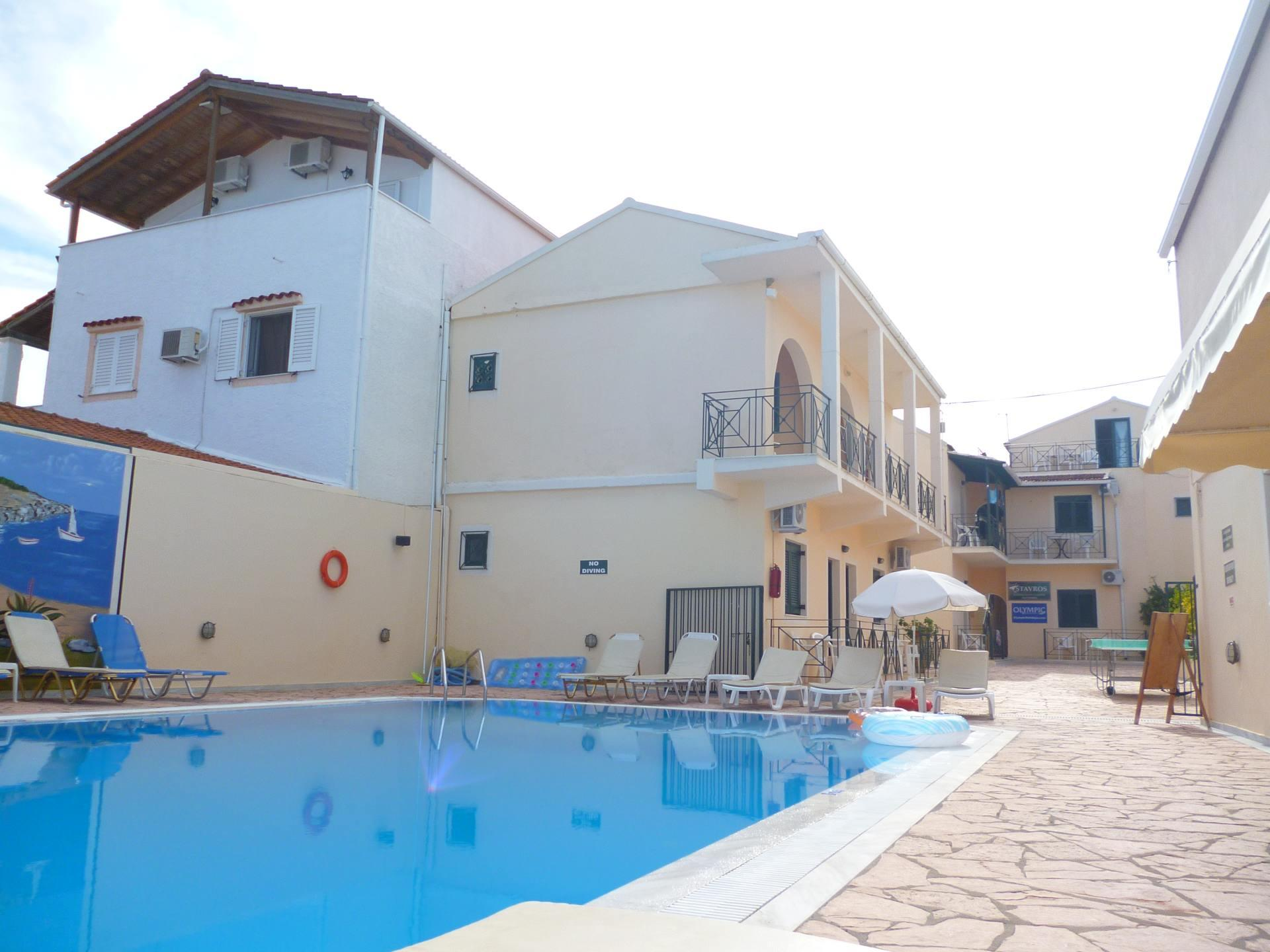 Holidays at Stavros Beach Apartments in Kavos, Corfu