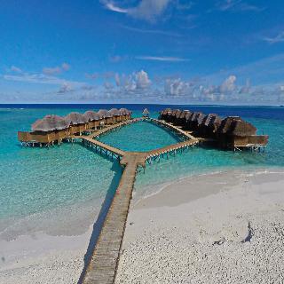 Holidays at Fihalhohi Resort Hotel in Maldives, Maldives