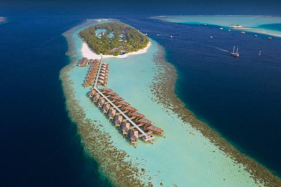 Holidays at Vilamendhoo Island Resort & Spa in Maldives, Maldives