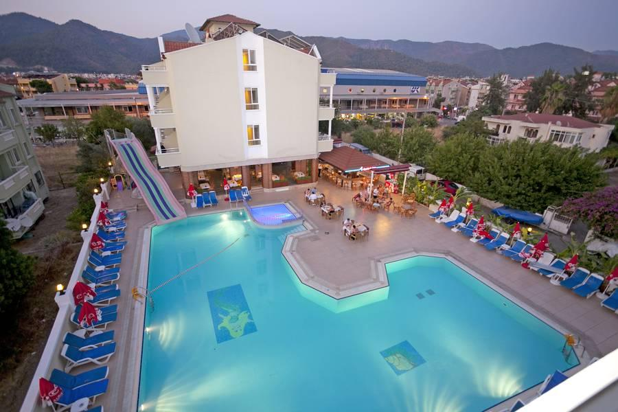 Holidays at Candan Apart Hotel in Marmaris, Dalaman Region