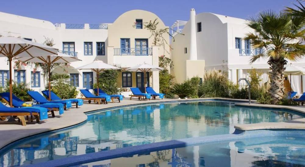 Holidays at Tamarix Del Mare Hotel in Kamari, Santorini