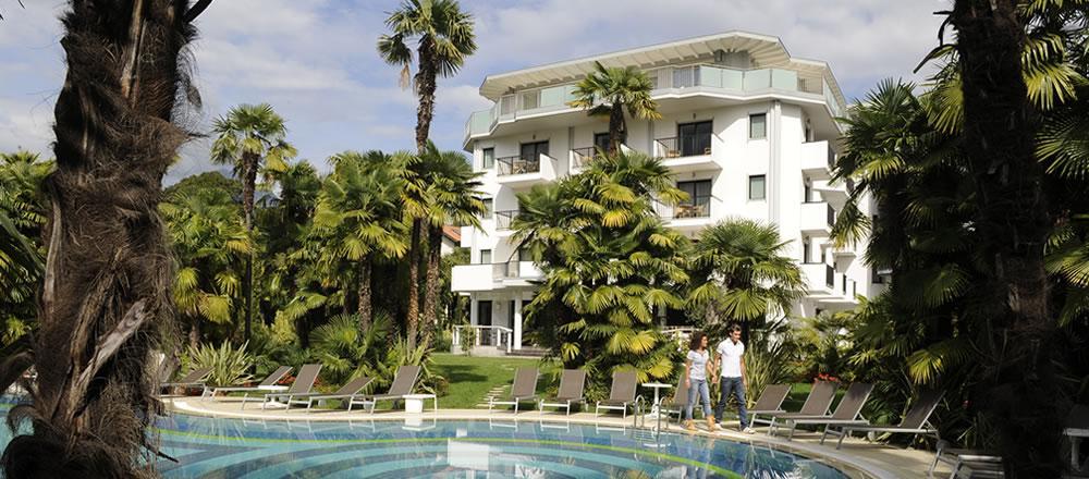 Holidays at Parc Flora Hotel in Riva del Garda, Lake Garda