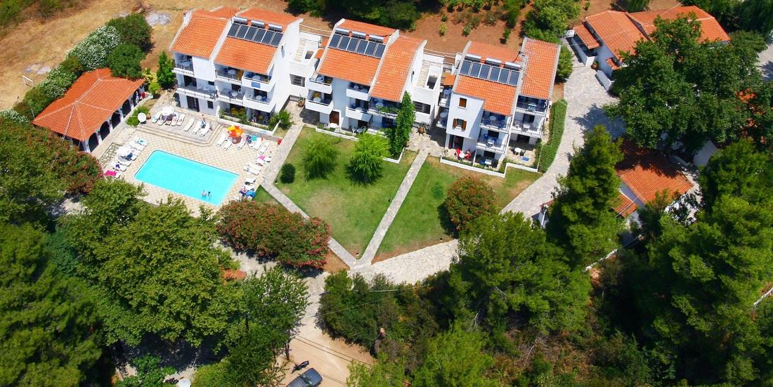 Amalia Apartments Koukounaries Skiathos Greece Book