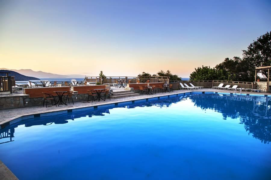 Holidays at Elpida Village Hotel in Istron, Crete