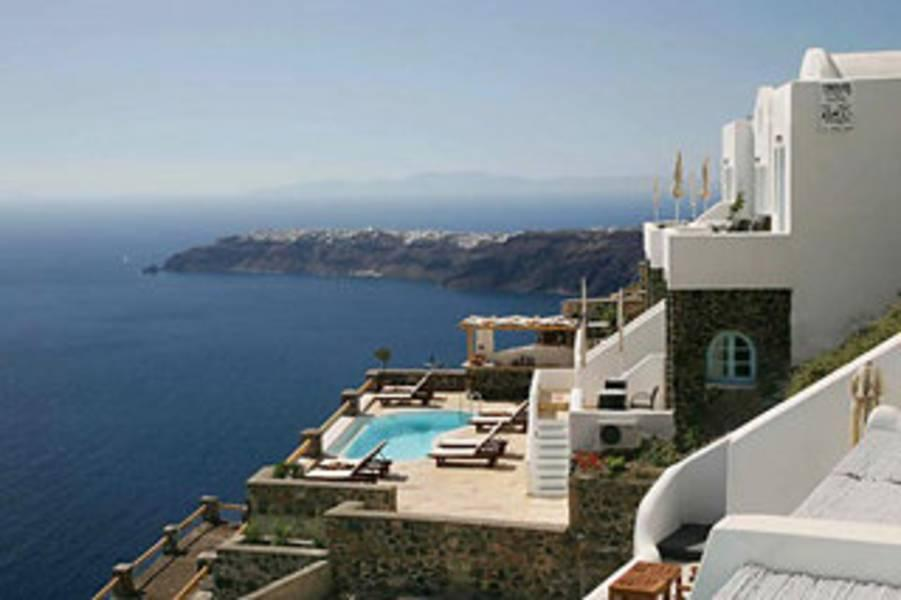 Holidays at Tholos Resort Hotel in Imerovigli, Santorini