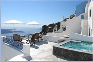 Holidays at Gorgona Villas in Imerovigli, Santorini