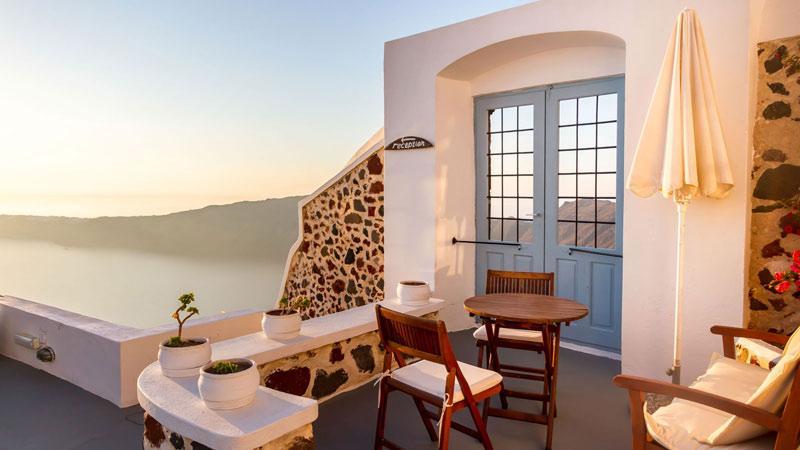 Holidays at Ilioperato Traditional Apartments in Imerovigli, Santorini
