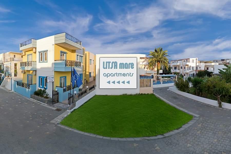Holidays at Litsa Mare Apartments in Aghia Pelagia, Crete