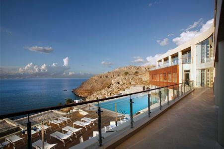 Holidays at Lindos Blu Hotel in Lindos, Rhodes