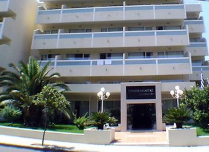 Holidays at Continental Apart Hotel in Rhodes Town, Rhodes