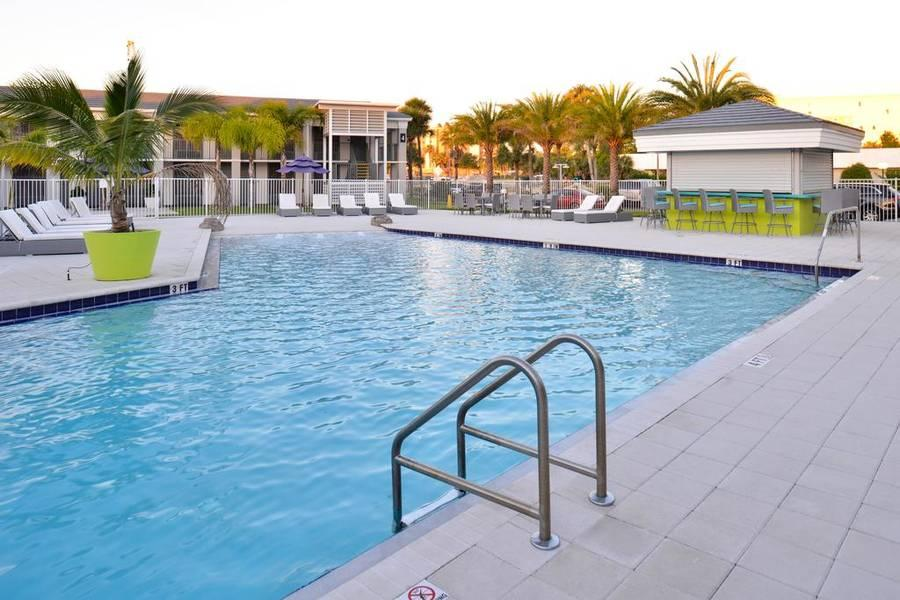 Holidays at Clarion Inn and Suites Orlando Universal in Orlando International Drive, Florida