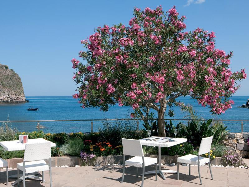 Holidays at La Plage Resort Hotel in Taormina, Sicily
