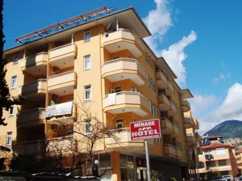 Holidays at Mirage Apart Hotel in Alanya, Antalya Region