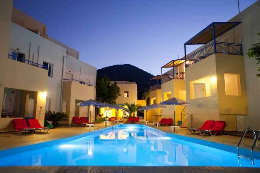 Holidays at Blue Horizon Apartments in Bali, Crete