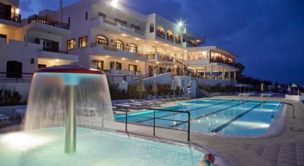 Holidays at Horizon Beach Hotel & Stelios Family Rooms in Stalis, Crete