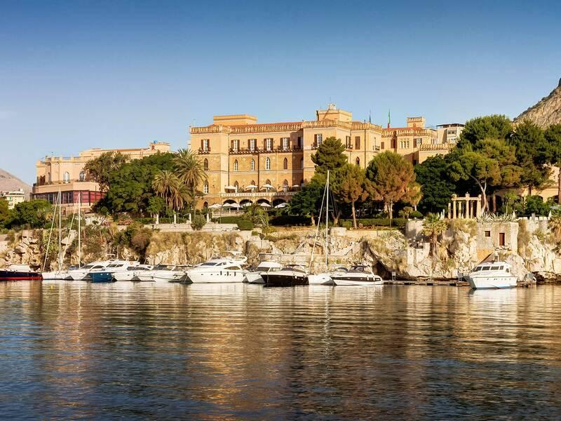 Holidays at Grand Hotel Villa Igiea in Palermo, Sicily