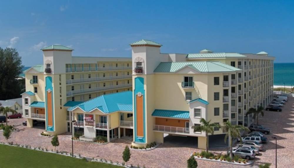 Holidays at Sunset Vistas Beachfront Suites Hotel in St Pete Beach, Florida