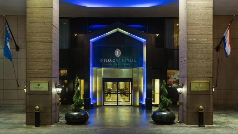 Holidays at Intercontinental New Orleans Hotel in New Orleans, Louisiana