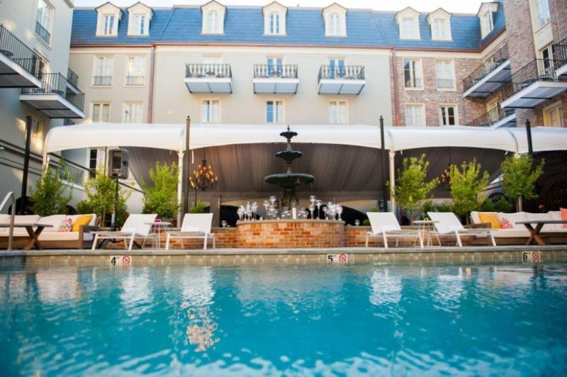 Holidays at Maison Dupuy Hotel in New Orleans, Louisiana