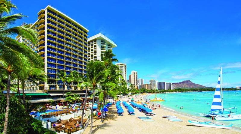 Holidays at Outrigger Waikiki On The Beach Hotel in Waikiki, Oahu