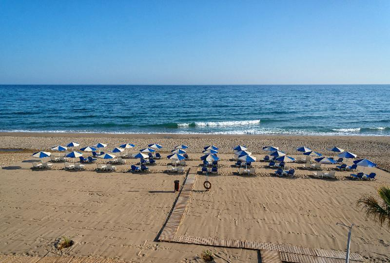 Holidays at Iperion Beach Hotel in Rethymnon, Crete