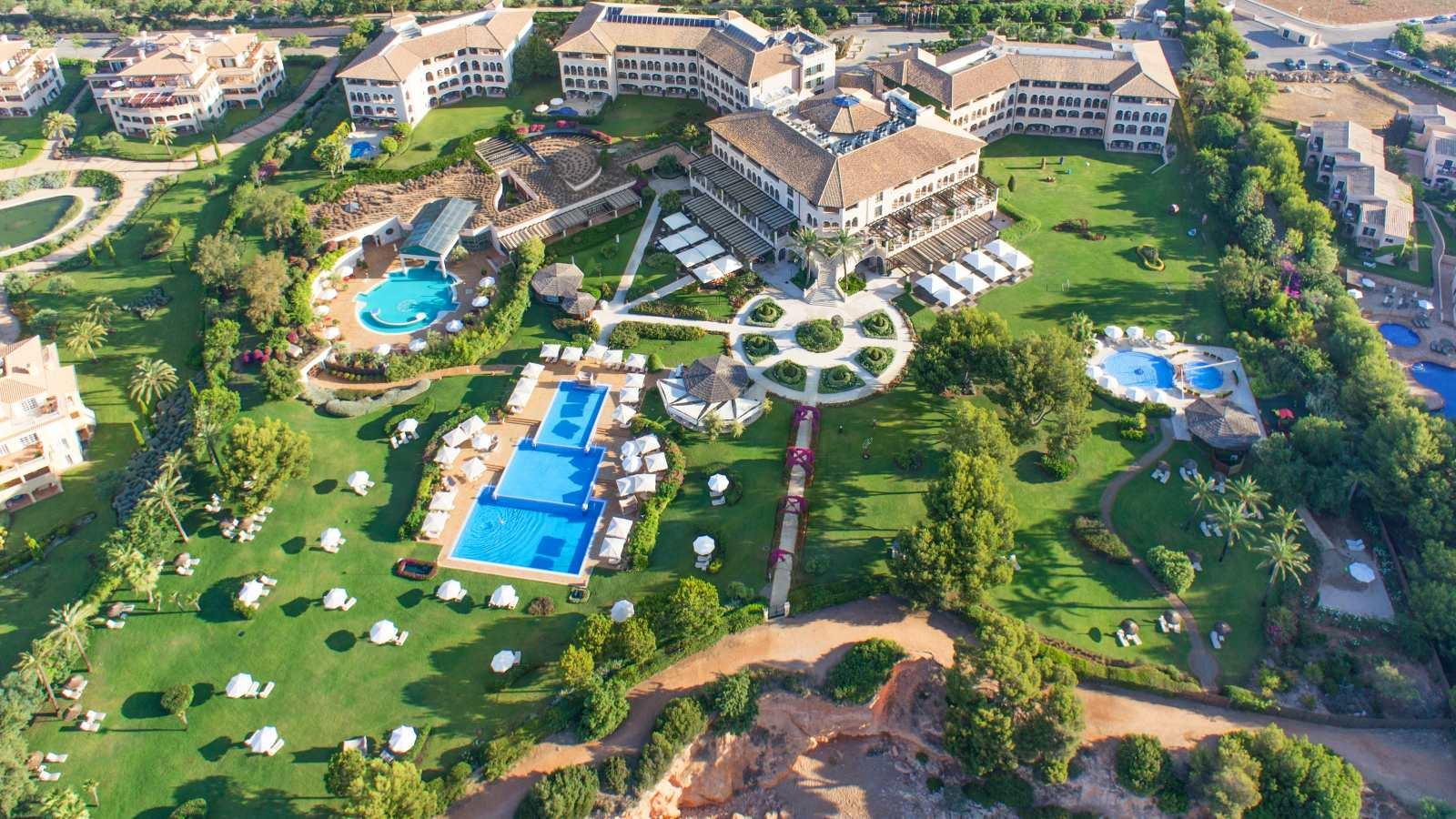 Holidays at St Regis Mardavall Resort Hotel in Costa d'en Blanes, Majorca