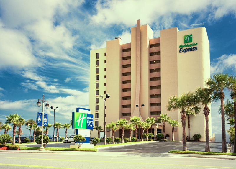 Holidays at Holiday Inn Express and Suites Oceanfront Hotel in Daytona, Florida