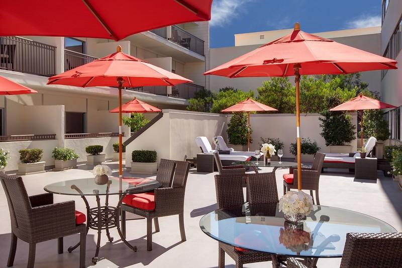 Holidays at Luxe Hotel Rodeo Drive in Beverly Hills, California