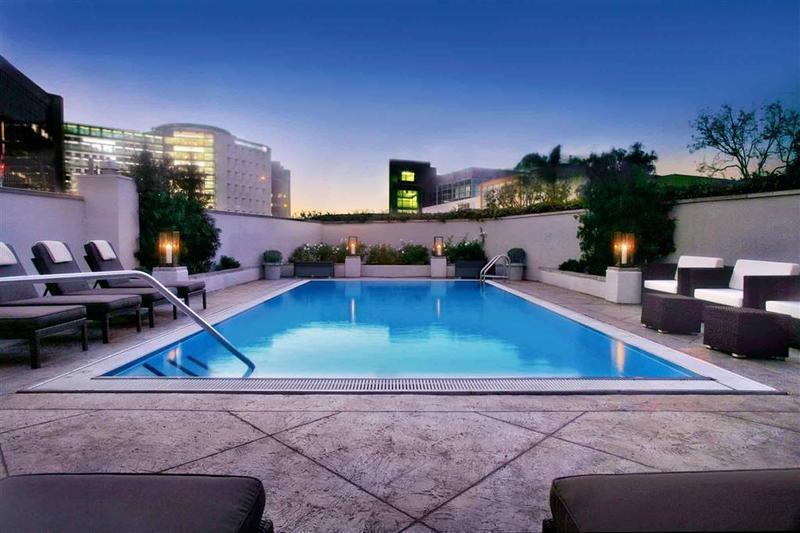 Holidays at Sofitel Los Angeles at Beverly Hills in Beverly Hills, California