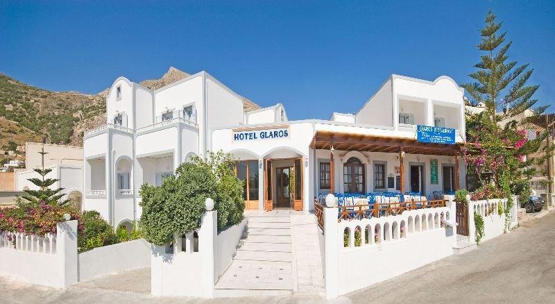 Holidays at Glaros Hotel in Kamari, Santorini
