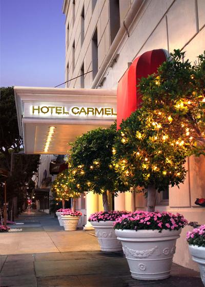 carmel by the sea hotel santa monica california usa. Black Bedroom Furniture Sets. Home Design Ideas