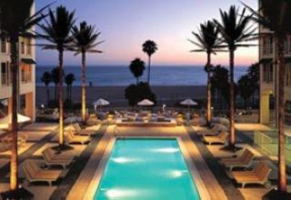 Holidays at Loews Santa Monica Beach Hotel in Santa Monica, California