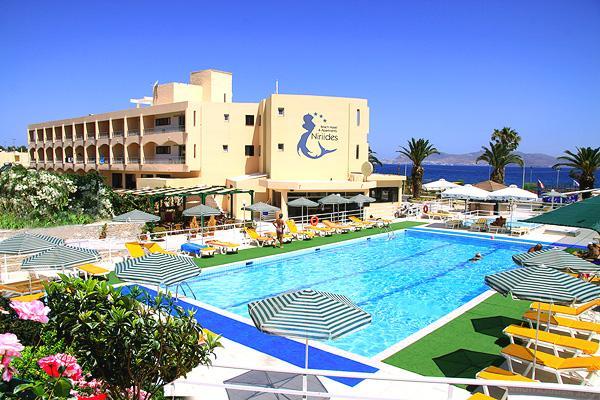 Holidays at Niriides Beach Hotel in Psalidi, Kos