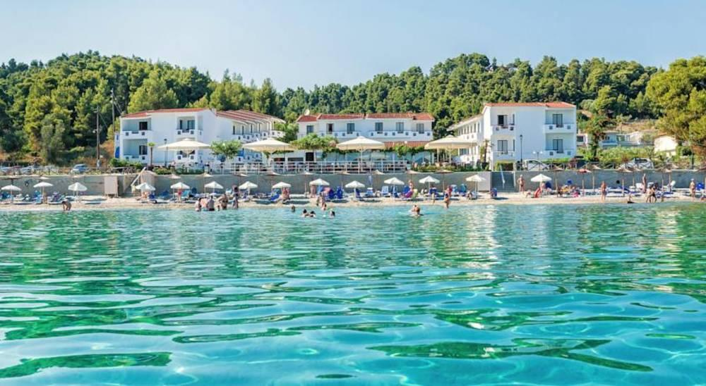 Holidays at Dolphin Beach Hotel in Possidi, Halkidiki